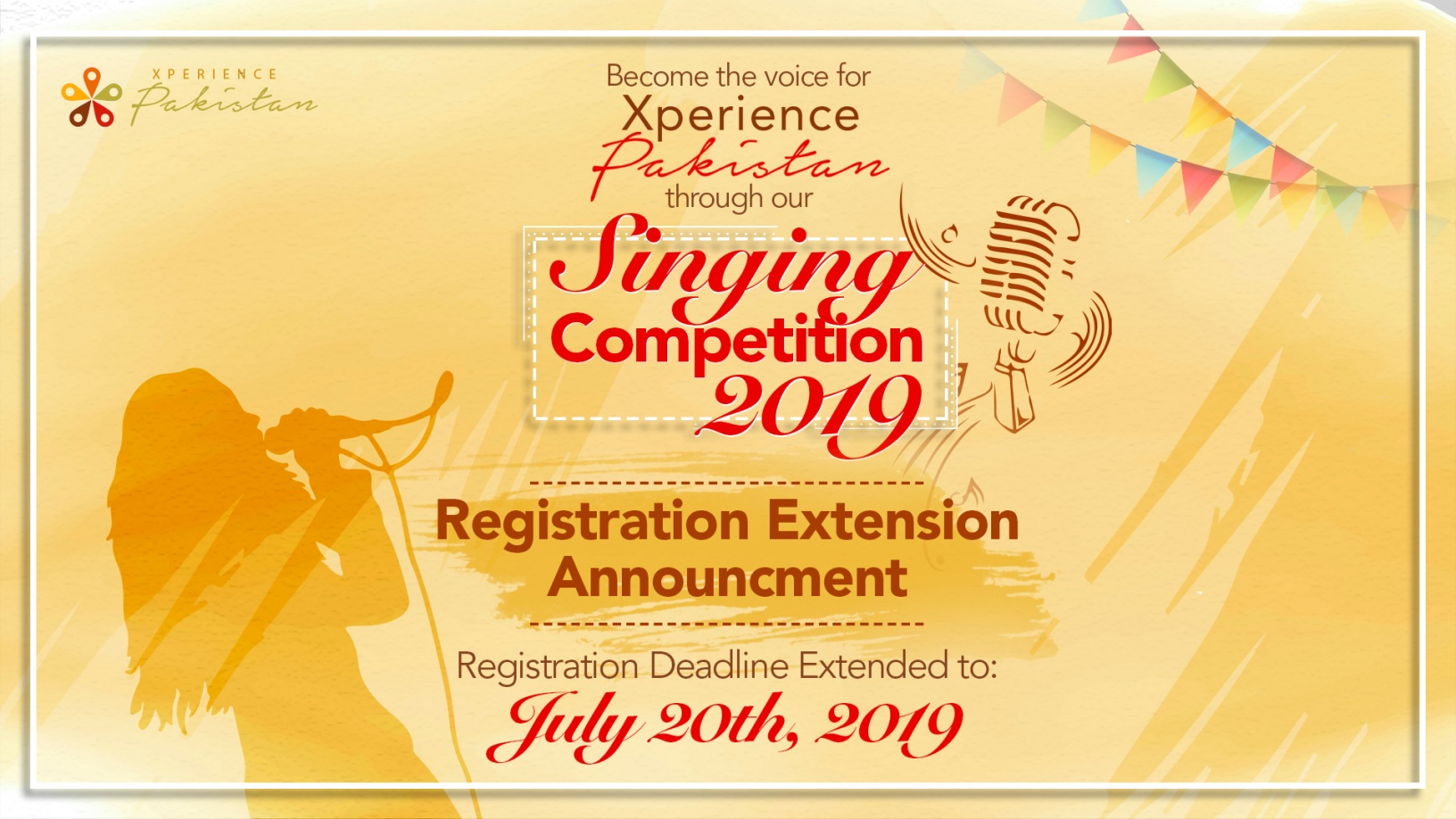 singing competition xperience pakistan